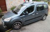 Comment organiser l'espace Peugeot Partner Tepee de couchage