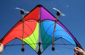 Cerf-volant avec LEDs Wind-Powered