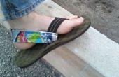 CapriSun pochette Heelstraps pour Sandals