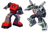 Transforming Cliffjumper and Wheeljack