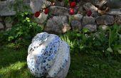 Comment faire une sculpture de jardin