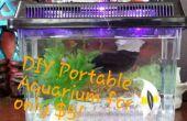 $5 bricolage Aquarium Portable