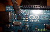 Retirer les LED de la carte Arduino !