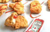 Parfait de poulet frit