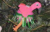 Ornement de Noël Flamingo