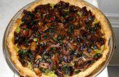 Tarte Ricotta épinards de champignons