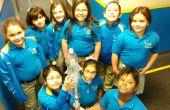 Lance-roquettes de l'eau pour la Science amusante V2