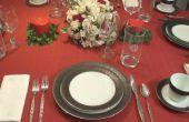 Comment définir une Table de dîner formel