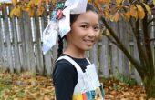 Costume Robe de papier