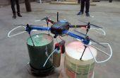 Quadcopter aérosol Mod