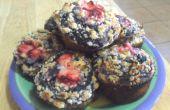 Muffins aux bleuets avec la garniture Streusel : tentative de cuisson A