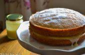 Gâteau de lait caillé de citron