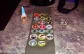 Utiliser de la colle de gorille sur vous sash Merit Badge