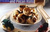 Courge, Feta et noix de pécan Rolls