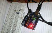 Valeurs de lecture analogique de LDR en utilisant Arduino