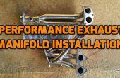Gaz d'échappement de remplacement collecteur (EK3 châssis et moteur Honda Civic 1999 D15B) !