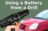 Démarrez rapidement votre voiture avec la batterie de perceuse