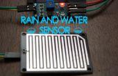 Modules d'Arduino - détecteur de pluie