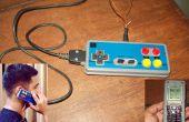 Un autre Mod de contrôleur de jeu. Nes-Phone / yacine téléphone. De manette Nes (ou n'importe quel contrôleur) & A donneur téléphone portable.