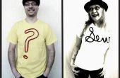 Le Tee texturé : un T-shirt bricolage embellissement tutoriel