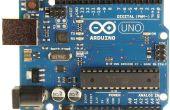 Code de capteur de température de l'Arduino