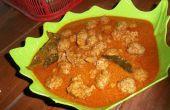 Bola-bola Daging Pedas (boulettes de viande épicées)