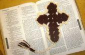 Crochet de signet Croix
