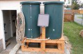 Green Solar Powered barrique d'eau