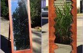 Miroir bois faux bord direct