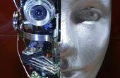 Un Robot Androïde de recyclage