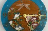 Retiré de la libellule et l'horloge fleurie (avec détail épique)