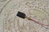 Électrode de carbone simple