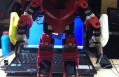 Robot humanoïde 3D imprimés pour moins de 1000,00 USD
