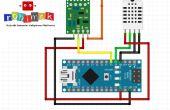 Arduino et mesure de l'humidité température Visual Basic RF plus
