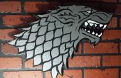 Ye Ol du ruban adhésif mural pour votre salle du trône ! « Winter is Coming »