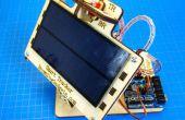 Nations Unies Seguidor solaire Simple que Tiene Ejes Duales