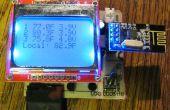 Surveillance de la température de la Wireless LOG