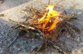 3 façons de construire un feu