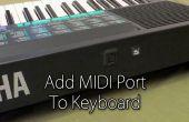 Ajoutez le port MIDI à clavier