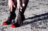Personnaliser des chaussures avec la peinture en aérosol et Sugru