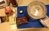 Biscuits aux brisures de Easy-Peasy moka café