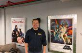 Métal encadré affiches de films