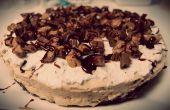 Beurre d'arachide Brownie Cheesecake