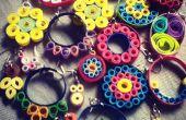 Boucles d'oreilles quilling : Simple et jolie !