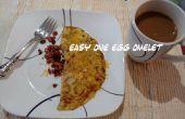 Facile un oeuf omelette