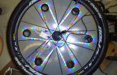 Prototype de vélo sécurité aide : roue dynamique 3D Light