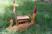 Craft bateau artificiel en contreplaqué
