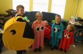 Pac Man et les costumes de fantômes