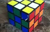 Rubik Cube 3 x 3 damier