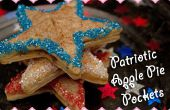Poches de tarte aux pommes patriotique